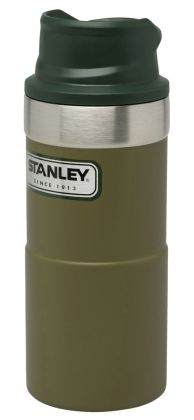 Trigger-Action Thermobecher 354ml, olive, Stanley Classic Serie