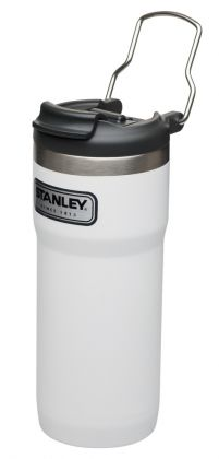 Twin-Lock Thermobecher 473ml, weiß, Stanley Classic Serie