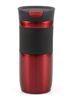 Contigo Byron Rot metallic, 470ml Thermobecher