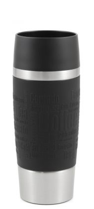 EMSA Travel Mug, schwarz, 360ml