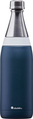 Fresco Thermavac Navy-Blau, 600ml Wasserflasche