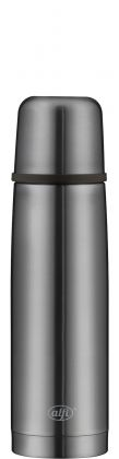 isoTherm Perfect cool grey, 500ml, mit Automatikverschluss