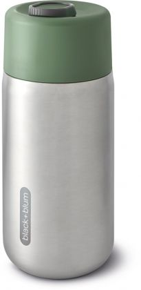 Black+Blum To Go Thermobecher Olive 340ml, Edelstahl