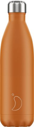 Chilly's Matte Burnt Orange, 750ml Isolierflasche