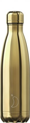 Chilly's Chrome Gold, 500ml Isolierflasche
