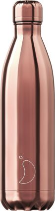 Chilly's Chrome Rosé Gold, 750ml Isolierflasche