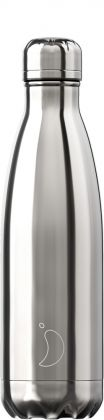 Chilly's Chrome Silver, 500ml Isolierflasche