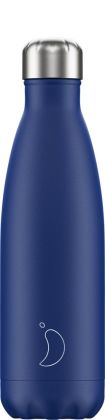 Chilly's Matte Blue, 500ml Isolierflasche
