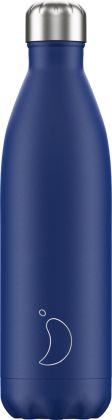 Chilly's Matte Blue, 750ml Isolierflasche