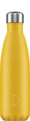 Chilly's Matte Burnt Yellow, 500ml Isolierflasche