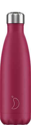Chilly's Matte Pink, 500ml Isolierflasche