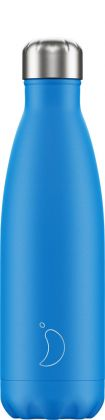 Chilly's Neon Blue, 500ml Isolierflasche