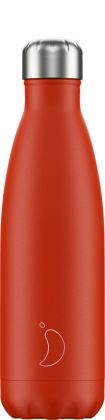Chilly's Neon Red, 500ml Isolierflasche