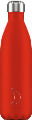 Chilly's Neon Red, 750ml Isolierflasche