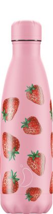 Chilly's Icons Strawberry, 500ml Isolierflasche