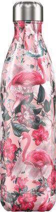 Chilly's Tropical Flamingo, 750ml Isolierflasche