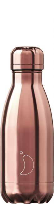 Chilly's Chrome Rosé Gold, 260ml Isolierflasche