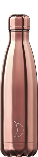 Chilly's Chrome Rosé Gold, 500ml Isolierflasche