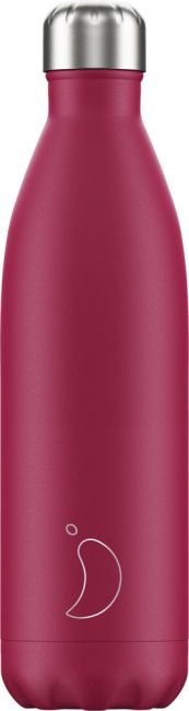 Chilly's Matte Pink, 750ml Isolierflasche