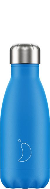 Chilly's Neon Blue, 260ml Isolierflasche