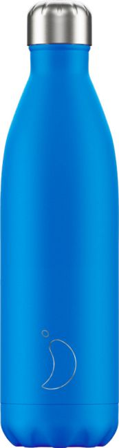 Chilly's Neon Blue, 750ml Isolierflasche