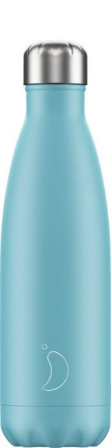 Chilly's Pastel Blue, 500ml Isolierflasche