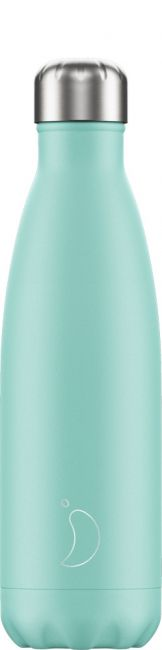 Chilly's Pastel Green, 500ml Isolierflasche