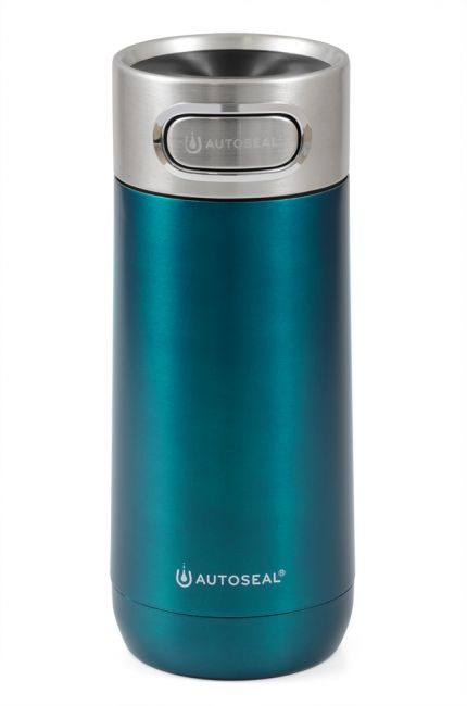 Contigo Luxe Biscay Bay, petrolblauer Thermobecher, 360ml